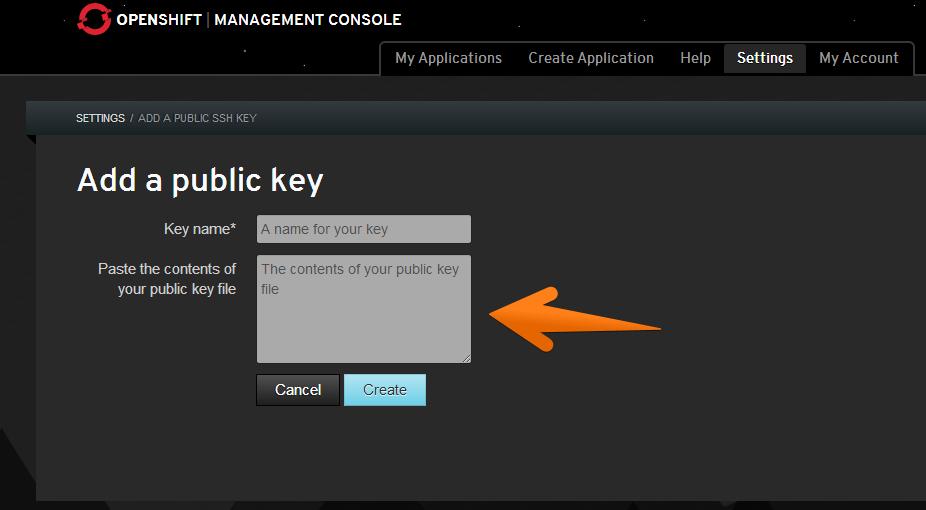 Генерация SSH-ключа при помощи Putty для доступа к файлам приложения в OpenShift
