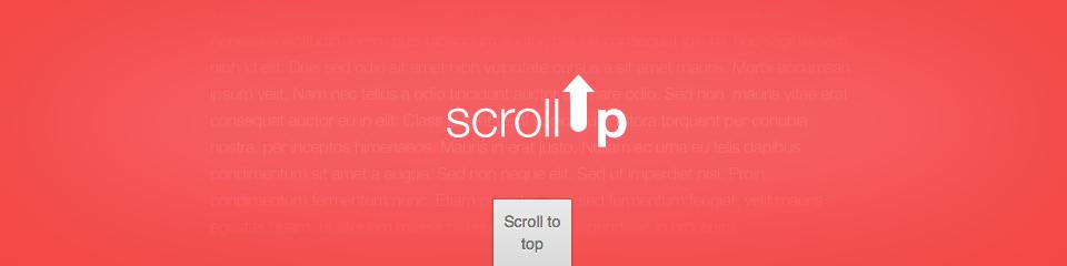 scrollUp — механизм «Вверх» (Наверх, Scroll Up) для быстрой перемотки страниц