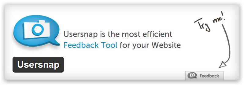 Usersnap — форма обратной связи по ошибкам веб сайта, включая возможность сделать скриншот