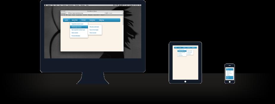 smartmenus — jQuery меню с адаптивной версткой