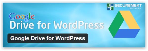 Google Drive for WordPress – плагин для создания резервных копий