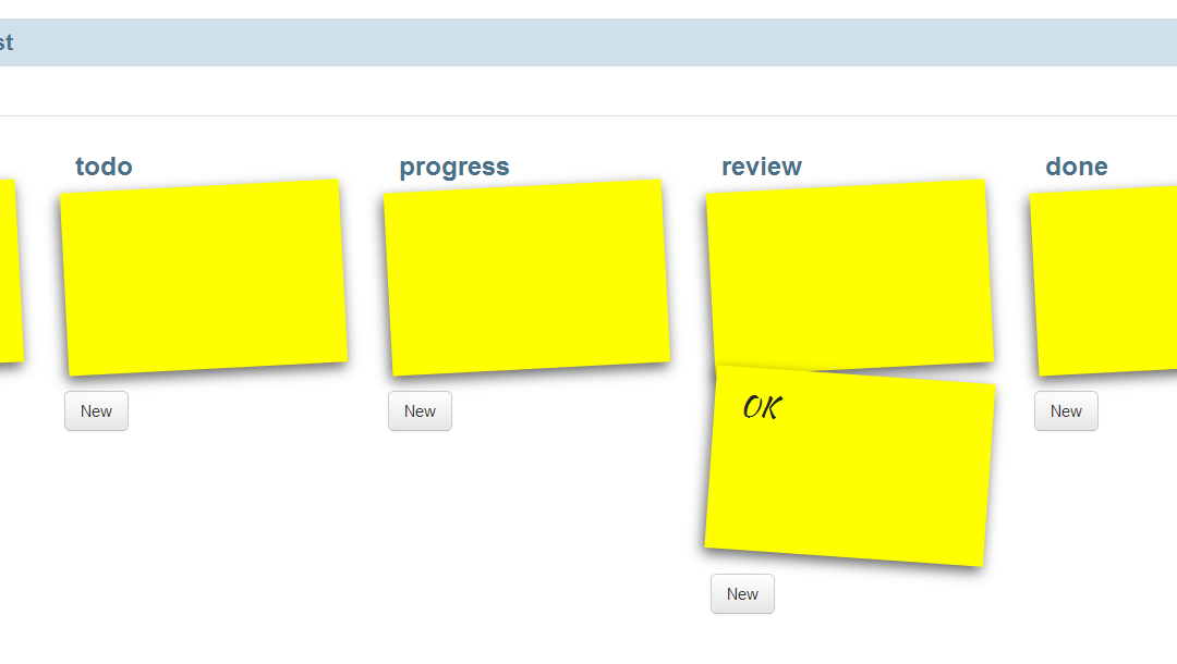 ScrumBoard на базе Backbone.js