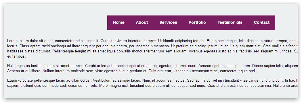 Flaunt.js — адаптивное меню