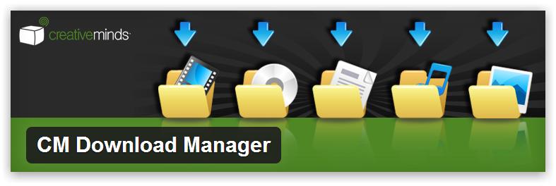 CM Download Manager — позволяет пользователям сайта управлять файлами и документами