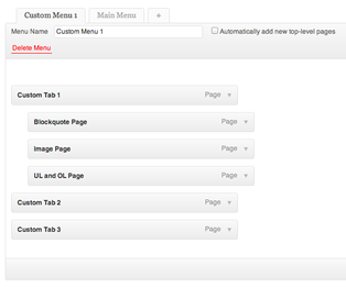 BuddyPress Custom Profile Menu