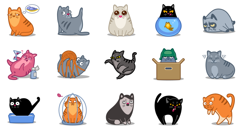 CAT POWER — иконки котов