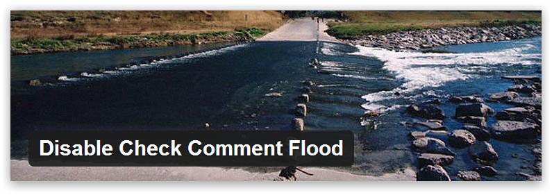 Disable Check Comment Flood — убираем проблему быстрого комментирования