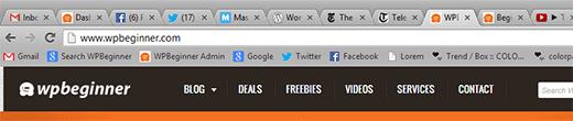 Как добавить favicon к своему WordPress  сайту