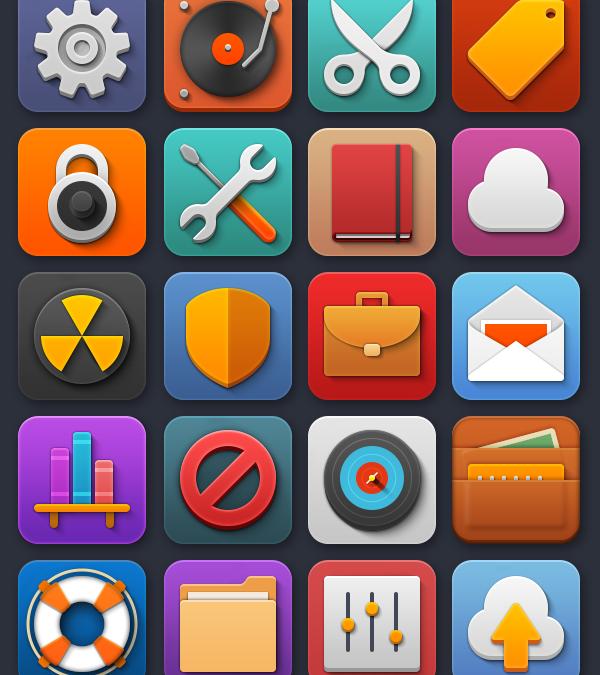 Softies — набор иконок