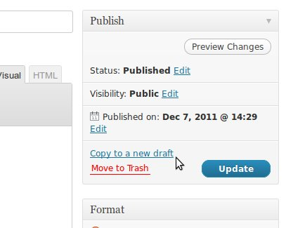 Duplicate Post — копирование постов WordPress