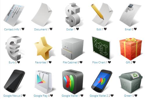 10+ бесплатных подборок иконок для бизнес маркетинга