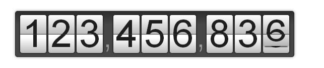 Tick — JS-плагин для создания счетчика чисел