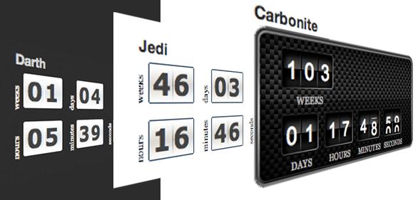 T(-) Countdown — таймер обратного отсчета для WordPress (с возможностью руссификации)
