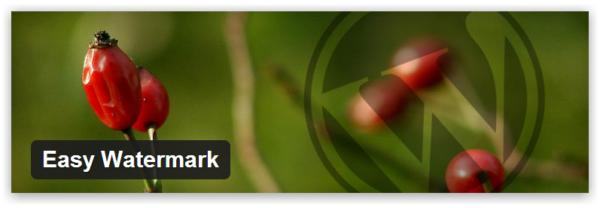 Easy Watermark — добавляем водяные знаки к изображениям на WordPress
