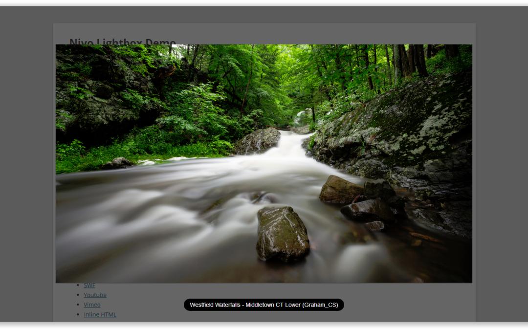 Nivo Lightbox — интересный плагин для модального открытия фотографий и др. элементов