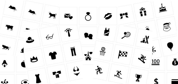 Хорошая подборка иконок на разные темы