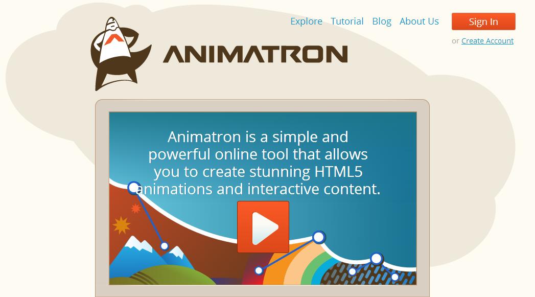 Animatron — веб приложение для создания анимаций к сайту