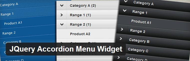 JQuery Accordion Menu Widget — интересный метод вывода меню WordPress