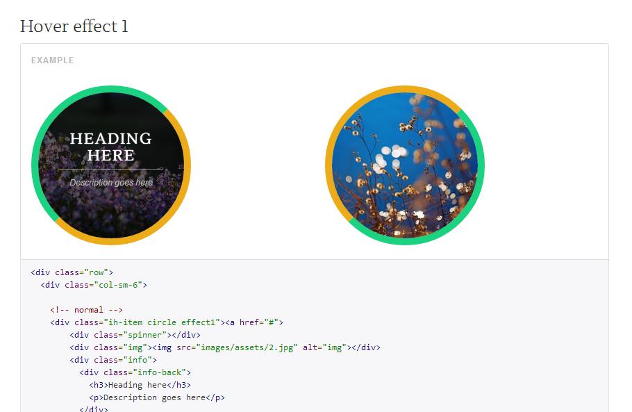 iArouse — спецэффекты CSS3 для элементов страницы