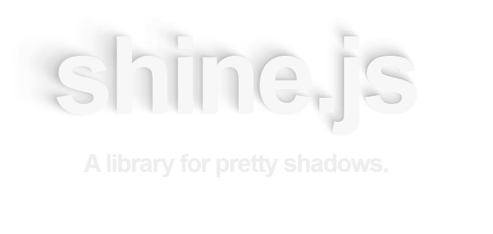 shine.js — динамическая тень