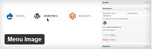 Menu Image — добавляем иконки или картинки к меню