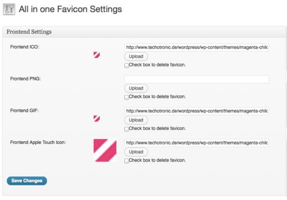 All In One Favicon — мой выбор для настройки фавиконок к сайтам