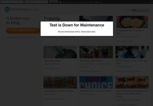 Ultimate Maintenance Mode — режим обслуживания для сайтов WordPress