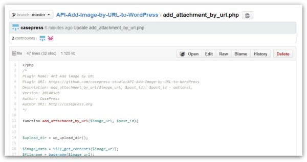 Загружаем и добавляем картинки в WordPress по URL