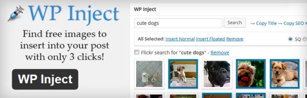 WP Inject — быстро добавляем миниатюру к посту в 3 клика