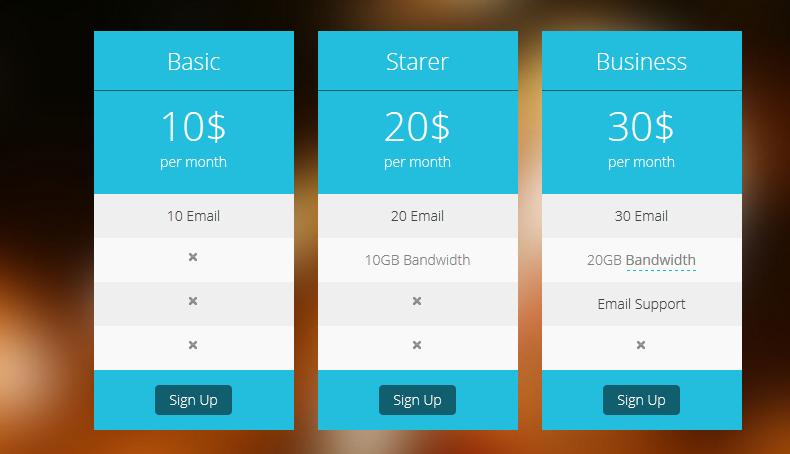 Как добавить красивую таблицу цен на сайт WordPress?