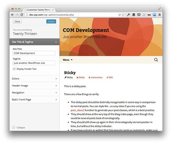 Настройки темы WordPress — как добавить свои поля?