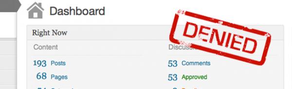 Плагин Remove Dashboard Access: разрешаем доступ к консоли только администраторам WordPress