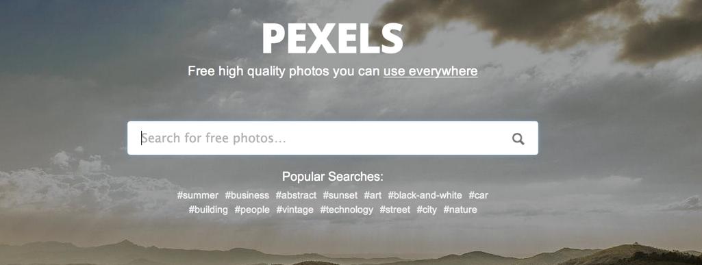 pexels.com — поисковик качественных фотографий (en)