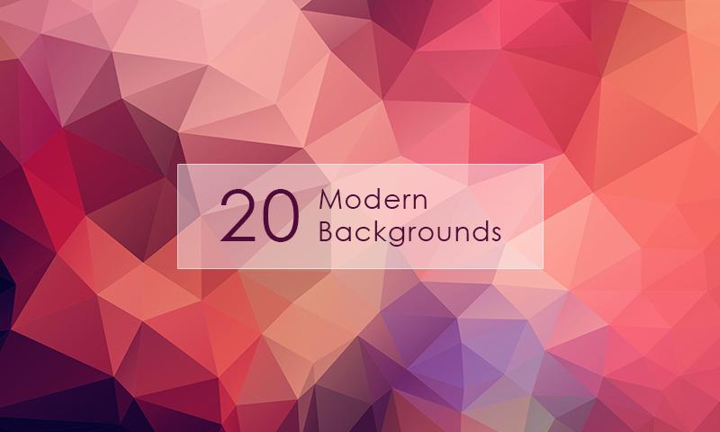 20 современных абстрактных фонов для страниц