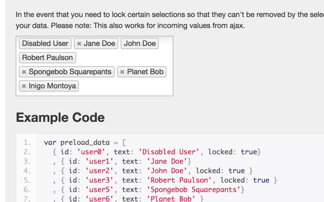 Select2 — jQuery плагин, расширяющий возможности выбора данных