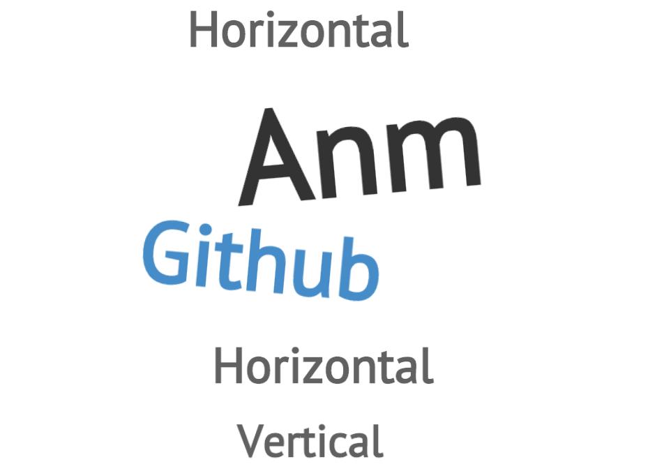 Anm — JS анимации элементов страницы зависмые от движений мыши и пальца