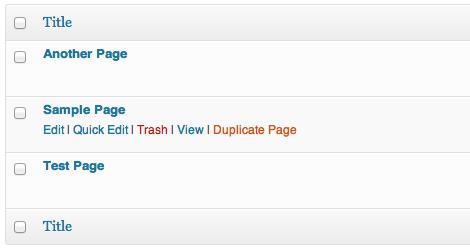 Post Duplicator — плагин для WordPress который позволяет делать копии (дубли) страниц