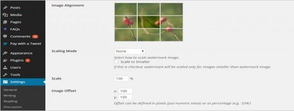 WordPress. Автоматическое добавление водяных знаков к изображениям с помощью плагина Easy Watermark