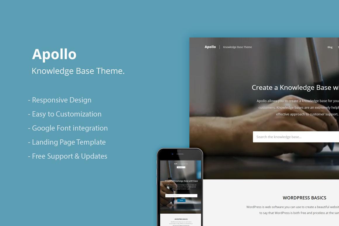 Knowledge Base WordPress Theme — тема для создания базы знаний на WordPress