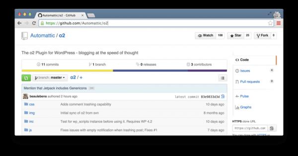 O2 — плагин для создания системы общения по задачам на WordPress