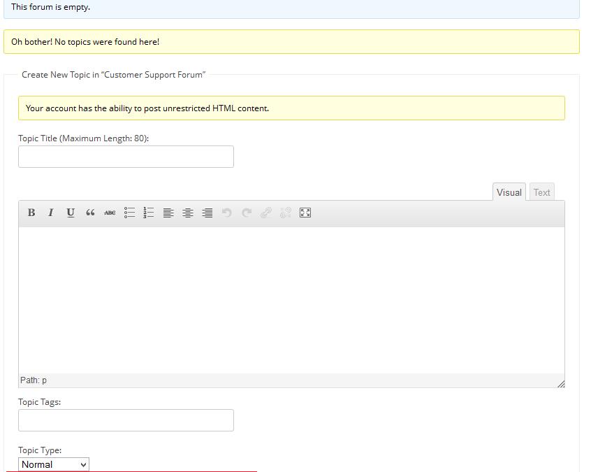 Как сделать подписку на топики в bbPress по умолчанию?