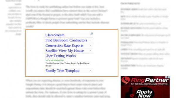 Как вывести рекламу после определенного абзаца в посте или на странице