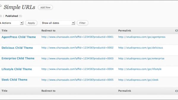 Simple URLs