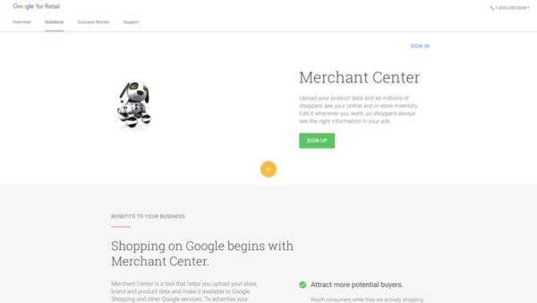 Google Покупки (Merchant)