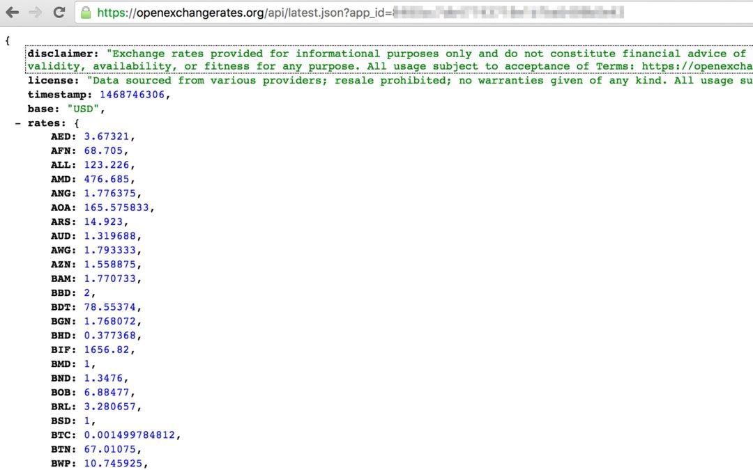 Получаем и обрабатываем данные в формате JSON