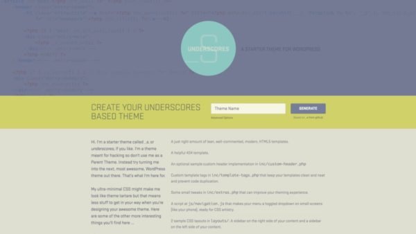 Underscores (_s)