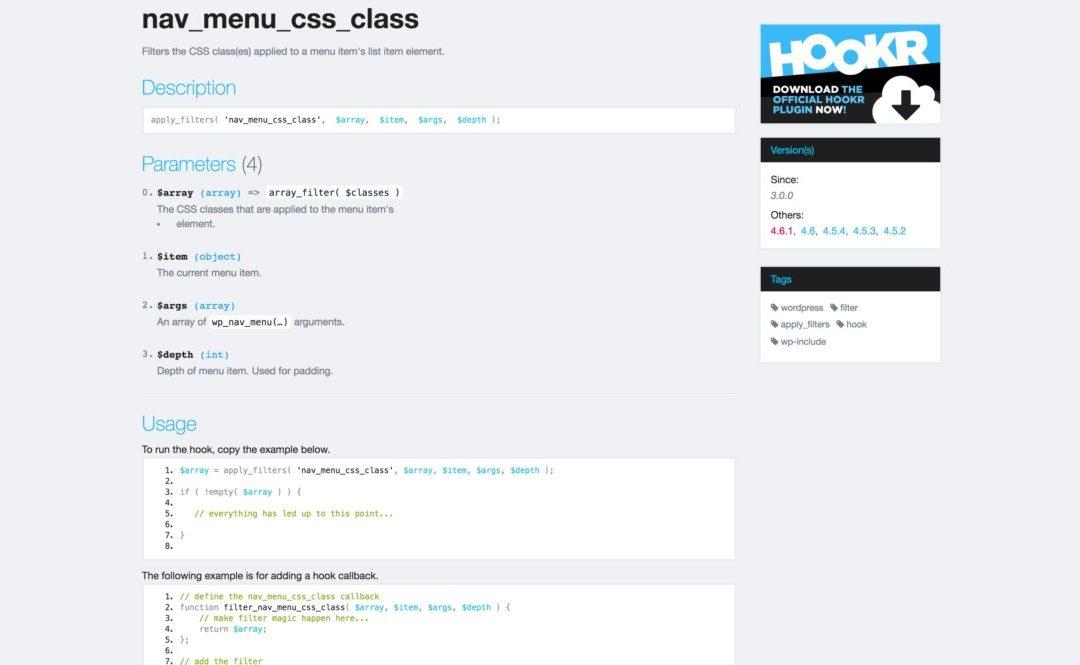 Как добавить CSS классы ко всем пунктам меню?