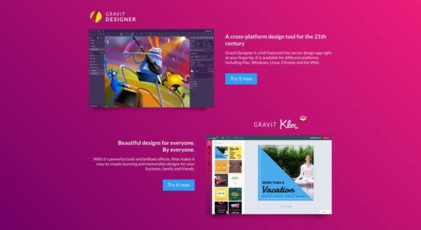 Gravit Designer — графический редактор для веб-сайтов и не только