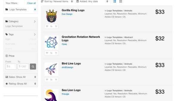 Логотипы от GraficRiver