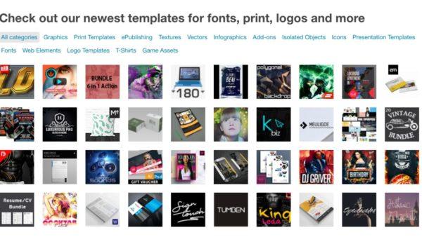 GraphicRiver — каталог графики Envato